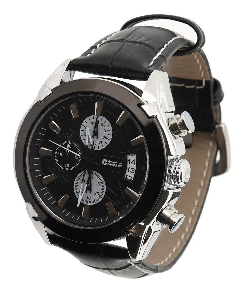 4b53f97b81 Hodinky CHRONO BLACK Compass (13720)